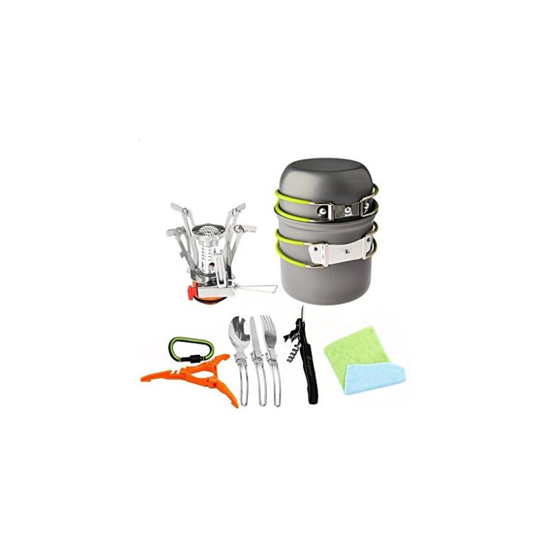 Juego de utensilios de cocina y estufa carabiner for Juego utensilios cocina